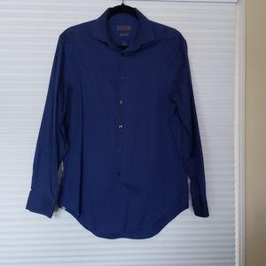 Men's Calvin Klein Blue Dress Shirt 15 1/2 32/33